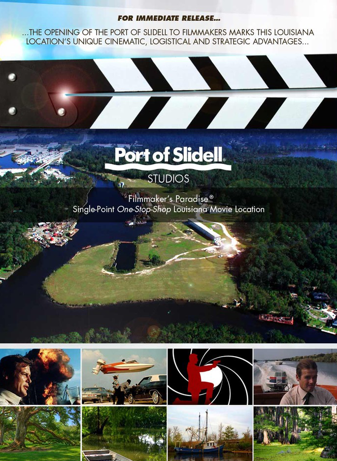 Port of Slidell Film Production and Staging
