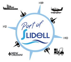 Port of Slidell Logo